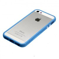Бампер SGP CASE Linear EX для iPhone 5 / 5s / SE голубой