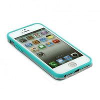 Бампер VSER для iPhone 5 / 5s / SE голубой