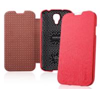 Чехол книга Baseus Ultrathin Case Hot Pink для Samsung Galaxy S4 - малиновый