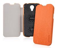 Чехол книга Baseus Ultrathin Case Orange для Samsung Galaxy S4 - оранжевый