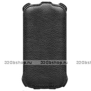 Черный чехол книжка для Samsung Galaxy S5 mini - Armor Case Black
