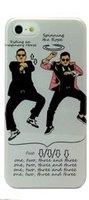 Чехол накладка Gangnam Style Case Grey для iPhone 5 / 5s / SE