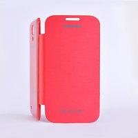 Чехол обложка Flip Cover Red для Samsung Galaxy S4 красный