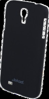Пластиковый чехол накладка Jekod для Samsung Galaxy S4 - черный