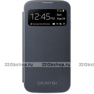 Чехол S View Cover Black для Samsung Galaxy S4 mini