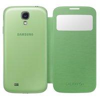Чехол обложка с окном S View Cover Green для Samsung Galaxy S4 mini зеленый мятный