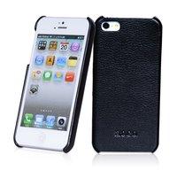 Кожаная накладка HOCO Duke для iPhone 5 / 5s / SE черная