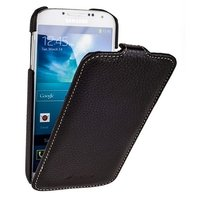 Коричневый кожаный чехол для Samsung Galaxy S5 mini - Melkco Jacka Type Case Brown Case