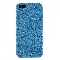 Накладка чехол с блестками Glitter Bling Case Light Blue для iPhone 5 / 5s / SE голубой