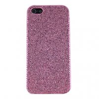 Накладка чехол с блестками Glitter Bling Case Pink для iPhone 5 / 5s / SE розовый