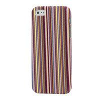 Накладка Colorful Stripes Case для iPhone 5 / 5s / SE малиновые линии