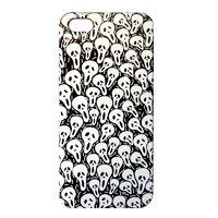 Накладка Scream Mask Pattern Case для iPhone 5 / 5s / SE - черный