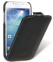 Кожаный чехол для Samsung Galaxy S4 mini - Melkco Jacka Type Black LC Samsung Galaxy S4 mini