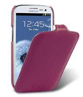 Кожаный чехол книжка Melkco Jacka Type для Samsung Galaxy S4 GT-I9500 - Purple LC