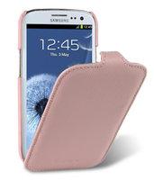 Кожаный чехол книжка Melkco Jacka Type для Samsung Galaxy S4 GT-I9500 - Pink LC