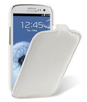 Кожаный чехол книжка Melkco Jacka Type для Samsung Galaxy S4 GT-I9500 - White LC