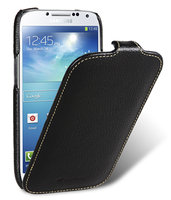 Кожаный чехол для Samsung Galaxy S4 - Melkco Premium Leather Case for Samsung Galaxy S4 GT-I9500 - Jacka Type - Black LC