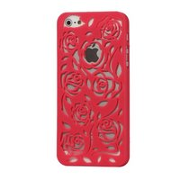 Пластиковая накладка Rose Flower Plastic Case Rose для iPhone 5 / 5s / SE розовые розы
