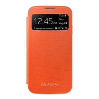 Чехол c окном S View Cover Orange для Samsung Galaxy S4 mini оранжевый