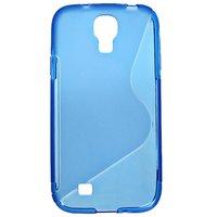 Силиконовый чехол S-Style для Samsung Galaxy S4 - S Style Soft Silicone Case Blue - голубой