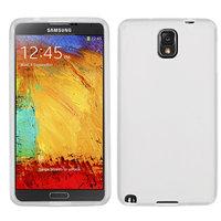 Cиликоновый чехол Melkco для Samsung Galaxy Note 3 N9000 белый прозрачный