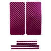 Карбоновая наклейка на iPhone 5 на переднюю, заднюю и боковые части Бородовая