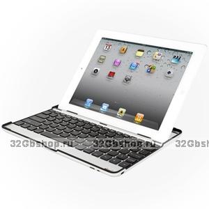 Клавиатура для iPad 4 / 3 / 2 Mobile bluetooth keyboard черная