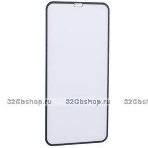Защитное стекло Reel 6D для iPhone 11 Pro Max с черной рамкой толщина 0.33mm