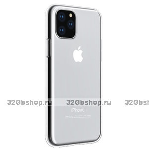 Прозрачный силиконовый чехол для iPhone 11 Pro - Hoco Light Series Transparent