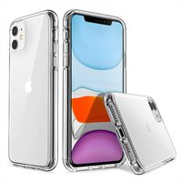 Прозрачный силиконовый чехол для iPhone 11 - Art Case Clear Series