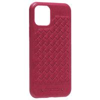 Красная кожаная накладка для iPhone 11 Pro - Santa Barbara Polo&Racquet Club Ravel Series Red
