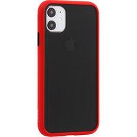 Черный защитный пластиковый чехол KeepHone Armor Series Red для iPhone 11 красный силиконовый бампер