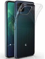 Прозрачный силиконовый чехол для Google Pixel 4
