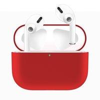 Красный силиконовый чехол для AirPods Pro
