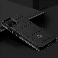 Защитный силиконовый чехол для Google Pixel 4 черный