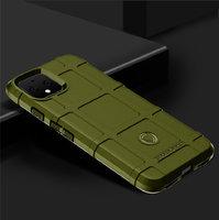 Защитный силиконовый чехол для Google Pixel 4 XL зеленый