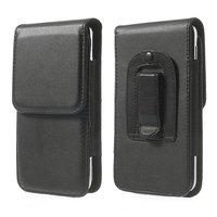 Чехол - кобура вертикальная на ремень для iPhone 5 / 5s / SE черный