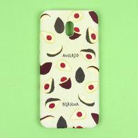 Силиконовый чехол с рисунком авакадо для Xiaomi Redmi 8A - Art Case Fruit Series Avacado