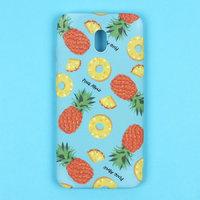 Силиконовый чехол с рисунком ананас для Xiaomi Redmi 8A - Art Case Fruit Series Pineapple