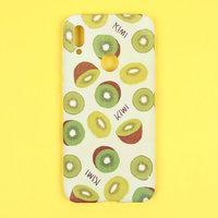Силиконовый чехол с рисунком киви для Xiaomi Redmi 8A - Art Case Fruit Series Kiwi
