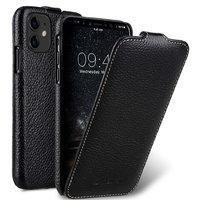 Черный кожаный чехол флип для Apple iPhone 11 - Melkco Premium Leather Jacka Type Black