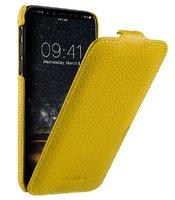Желтый кожаный чехол флип для Apple iPhone 11 - Melkco Premium Leather Jacka Type Yellow