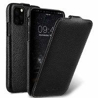 Черный кожаный чехол флип для iPhone 11 Pro - Melkco Premium Leather Jacka Type Black