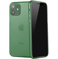 Зеленый ультратонкий пластиковый чехол iPhone 11