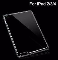 Чехол прозрачный силиконовый для iPad 4 / 3/ 2