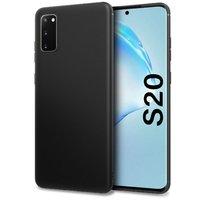 Черный пластиковый чехол для Samsung Galaxy S20