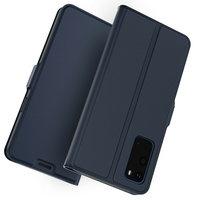 Синий чехол книга для Samsung Galaxy S20 - Art Case Book Wallet Blue
