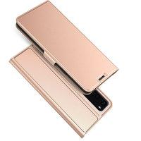Чехол книга для Samsung Galaxy S20 розовое золото - Art Case Book Wallet Rose Gold