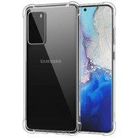 Прозрачный силиконовый чехол для Samsung Galaxy S20