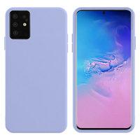 Фиолетовый силиконовый чехол Silicone Cover Purple для Samsung Galaxy S20+ Plus